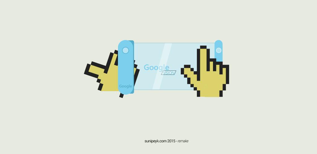 Google Phone için  konsept tasarım grafiği- yendien yapım- sunipeyk 2015