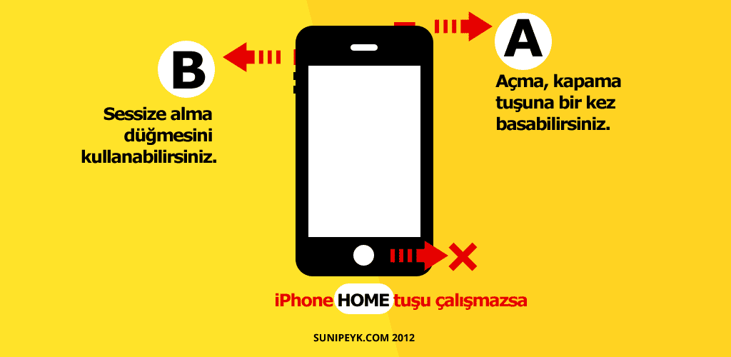 iPhone home tuşu