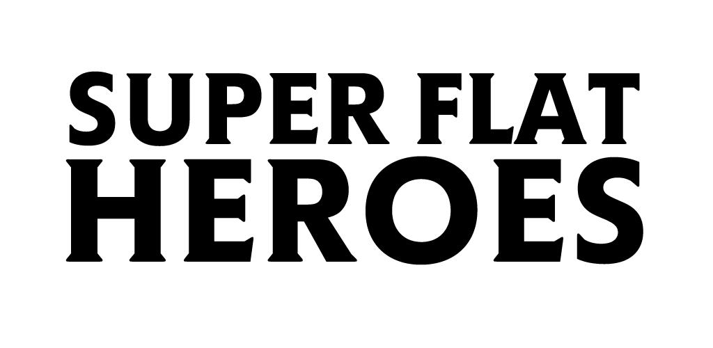 super flat heroes