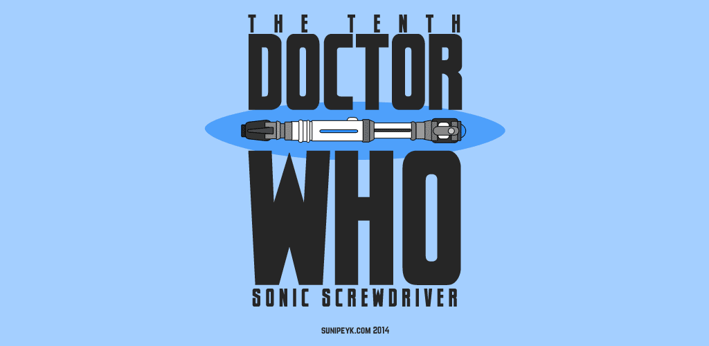 10th doctor who's sonic screwdriver