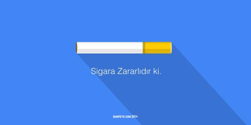 sigara ikonu posteri