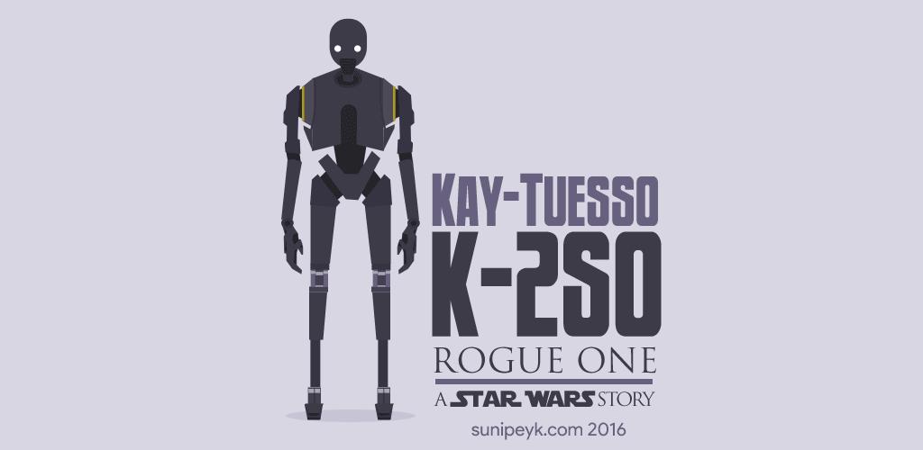K-2SO mini poster