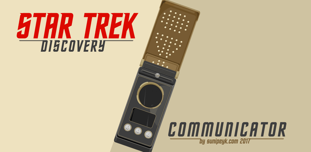Star Trek Discovery Communicator