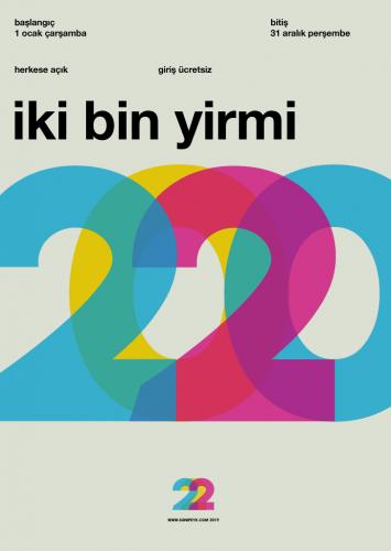 2020 Swiss Design poster çalışması