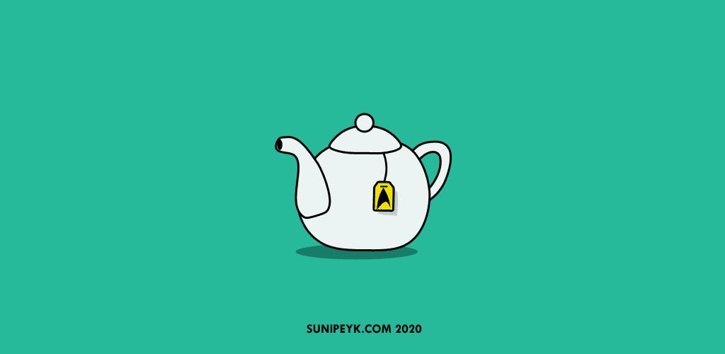 Çay demliği ikonu