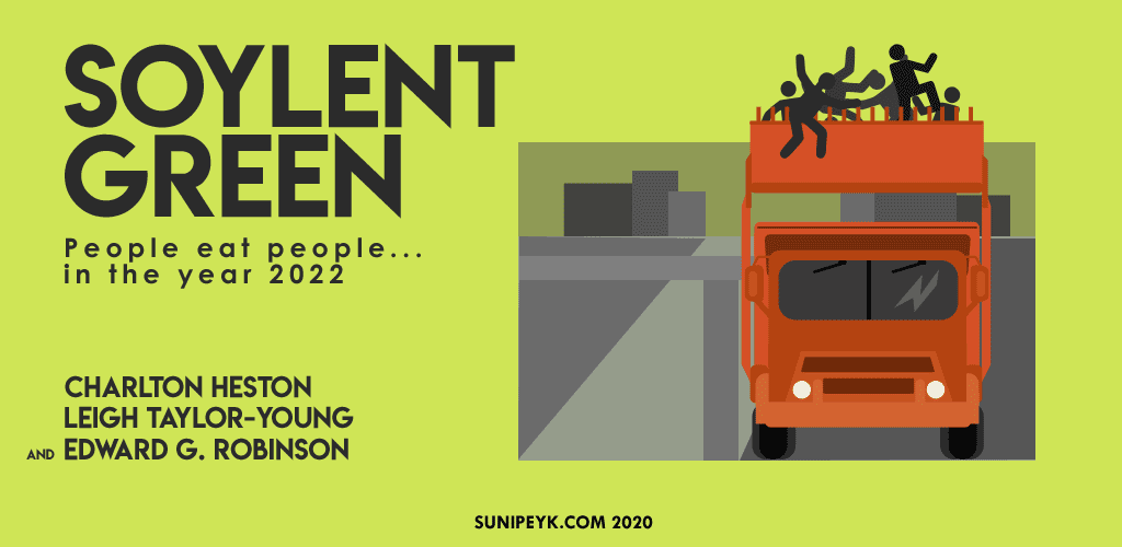 Soylent Green flat poster
